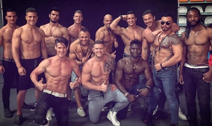 male strippers Dublin